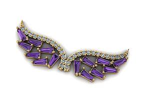 3D print model Wing Necklaces