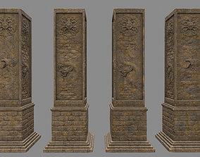 pillar 4 3D asset