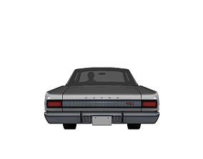 DODGE CHARGER RT 1967 3D model