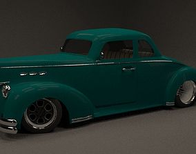3D rigged custom coupe