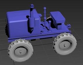 3D farming Tractor