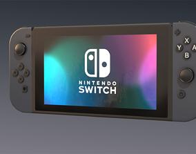 Nintendo Switch 3D asset