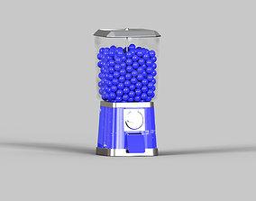 CANDY DISPENSER 3D model PBR