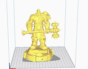 3D printable model War Orc