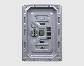 3D model Sci-Fi Sliding Door