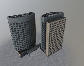 Amsterdam Akzo Nobel 3D asset