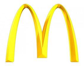 McDonalds 3d Logo