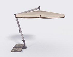 Outdoor Umbrella Parasol 6 3D model
