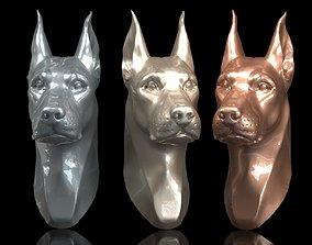 3D printable model Doberman Head