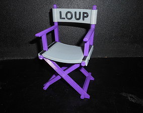 3D printable model Chaise cinema