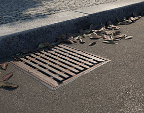 Manhole Cover 01 3D