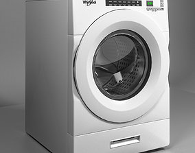 Whirlpool Washer WFW9620HW 3D