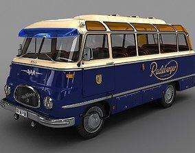 3D ROBUR LO 2500 Bus 1961