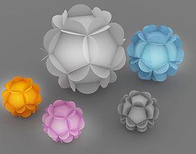 origami flower 2 3D model