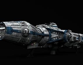 3D model Star Wars Corellian Gunship DP20