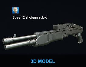 3D Spas 12 shotgun sub-d