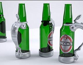 A Simple Stein Holder for Your Bottled 3D print model
