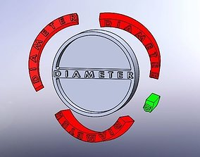 maths Pi constant educational 3D printable