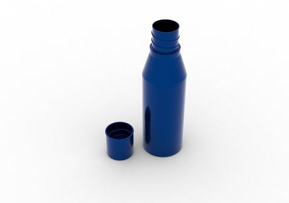 Water Bottle Model WB2 Blue 3D print model