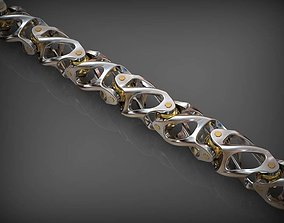 bracelets 3D print model Chain Link 164