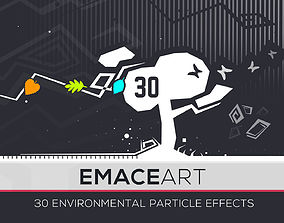 3D model Nature Project - Environmental Particle Effects
