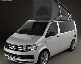 Volkswagen Transporter T6 California 3D model