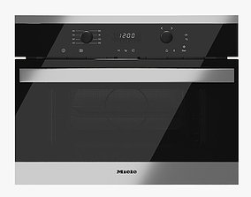 3D Microwave Oven Miele M 6160 6260 TC