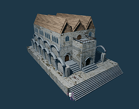Cathedral Gothic Style compatible with any VR / AR ready 3