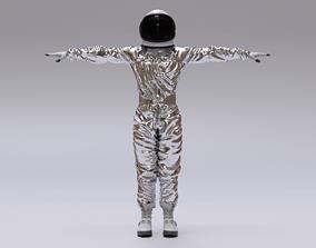 Spacesuit Astronaut Rigged - Astronauta Traje 3D asset 2