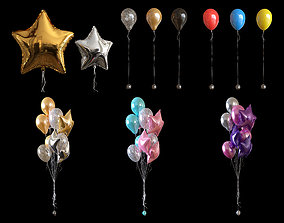 3D Balloons collection