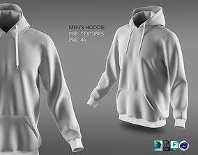 3D PBR hoodie 02 w