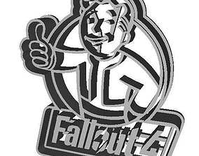 3D print model Fallout 4 Logo Cookie Cutter with intricate