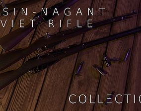 Mosin-Nagant Rifle Variants war 3D