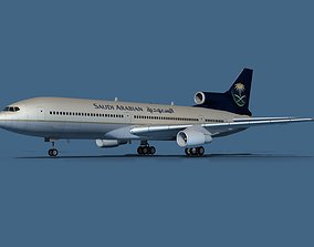 3D model Lockheed L-1011-50 Saudi Arabian