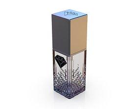 Diamond cosmetics bottle - 30x30 mm - V - 30 mL 3D