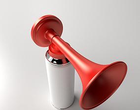 Portable Air Horn 3D model