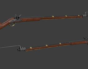 3D model Musket