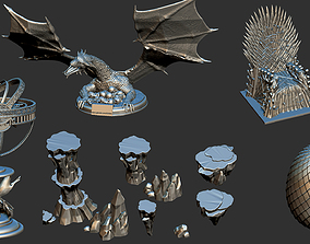 Game Of Thrones - Collection Eggs 3D printable model 4