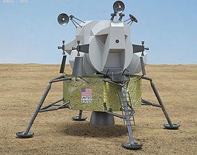 nasa 3D model Apollo 11 Lunar Module