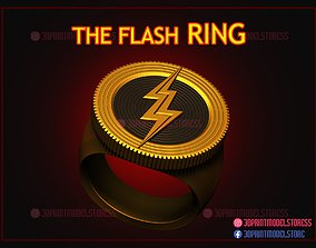 The Flash Ring - The Flash 2022 - DC 3D printable model 1