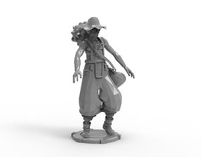 Usopp - Tough Walk Pose 3D print model