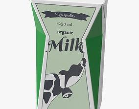 3D farm Tetra Brik Aseptic Base Crystal Milk