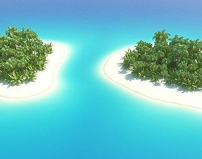 Island Scene 3D model