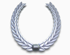 3D Laurel wreath cocongratulation