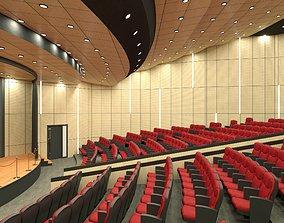 Auditorium Hall Design 3D theater