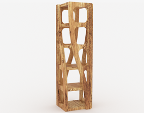 Fully Wooden Shelves - 3ds Max