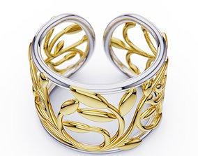 3D printable model ring twig