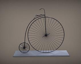 Vintage Bicycle 3D print model