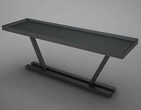 3D model Modern Dining Room Buffet Table 04