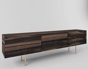 living modern table 3D model